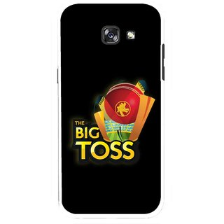 Snooky Printed Big Toss Mobile Back Cover For Samsung Galaxy A5 (2017) - Multicolour