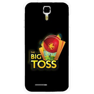 Snooky Printed Big Toss Mobile Back Cover For Micromax Canvas Juice A177 - Multicolour