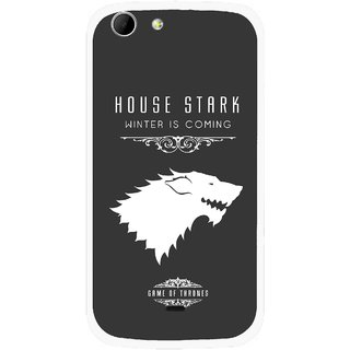 Snooky Printed House Stark Mobile Back Cover For Micromax Canvas 4 A210 - Multicolour