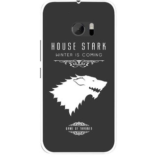 Snooky Printed House Stark Mobile Back Cover For HTC One M10 - Multicolour