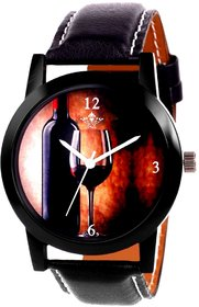 VIP Wine Glass Analogue Men's Watch By Fashion Gallery