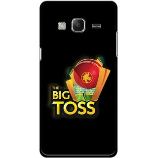 Snooky Printed Big Toss Mobile Back Cover For Samsung Tizen Z3 - Multicolour