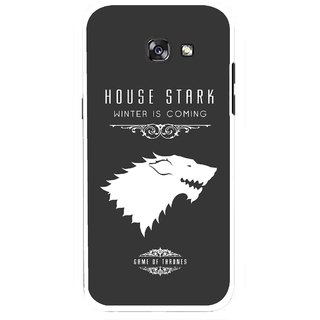 Snooky Printed House Stark Mobile Back Cover For Samsung Galaxy A5 (2017) - Multicolour