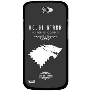 Snooky Printed House Stark Mobile Back Cover For Gionee Pioneer P3 - Multicolour