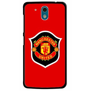 Snooky Printed United Mobile Back Cover For HTC Desire 326G - Multicolour
