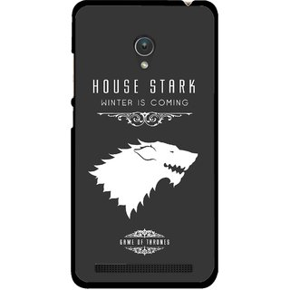 Snooky Printed House Stark Mobile Back Cover For Asus Zenfone Go ZC451TG - Multicolour