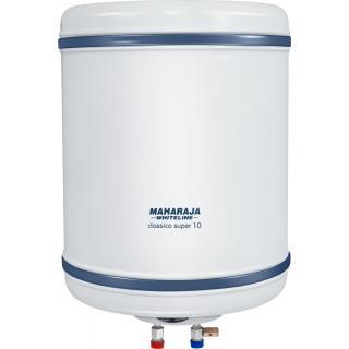 Maharaja Whiteline Classico Super 10 L Storage Geyser (White Blue)