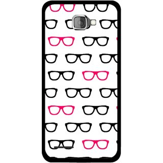 Snooky Printed Spectacles Mobile Back Cover For Micromax Canvas Mad A94 - Multi