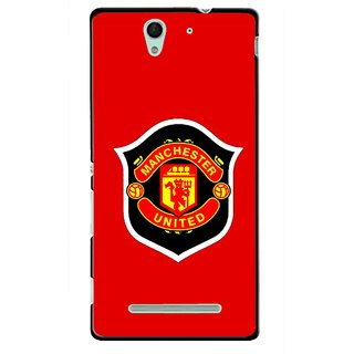 Snooky Printed United Mobile Back Cover For Sony Xperia C3 - Multicolour