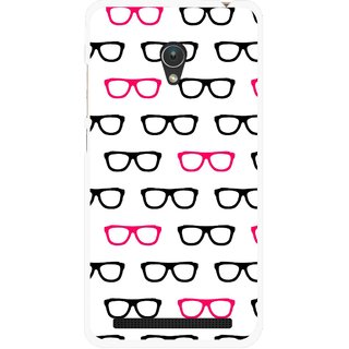 Snooky Printed Spectacles Mobile Back Cover For Asus Zenfone Go ZC451TG - Multi
