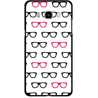 Snooky Printed Spectacles Mobile Back Cover For Samsung Galaxy J5 (2017) - Multi
