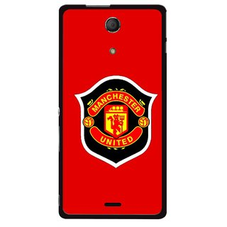 Snooky Printed United Mobile Back Cover For Sony Xperia ZR - Multicolour