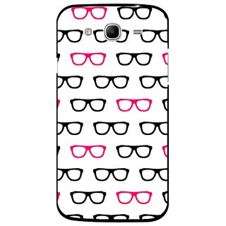 Snooky Printed Spectacles Mobile Back Cover For Samsung Galaxy Mega 5.8 - Multi