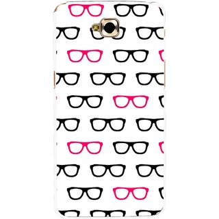 Snooky Printed Spectacles Mobile Back Cover For Lg G Pro Lite - Multi