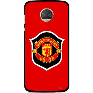 Snooky Printed United Mobile Back Cover For Motorola Moto Z2 Play  - Multicolour