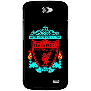 Snooky Printed Football Club Mobile Back Cover For Gionee Pioneer P2 - Black