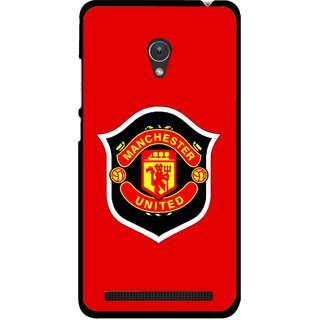 Snooky Printed United Mobile Back Cover For Asus Zenfone Go ZC451TG - Multicolour