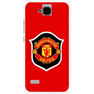 Snooky Printed United Mobile Back Cover For Huawei Honor Holly - Multicolour