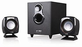 FD F-203G 2.1 Channel Multimedia Speaker System (Black)
