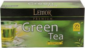 Lemor Lemon Green Tea (3 pack of 25 Tea Bag)
