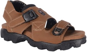 RSV Mens Tan Floater Sandal