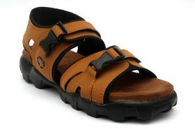 RSV Trendy Tan Floater Sandal