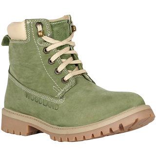 Woodland Men's Green Boots
