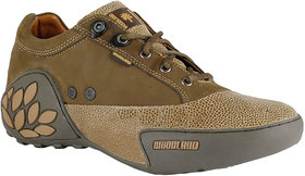 Woodland Men's Green Casual Shoe