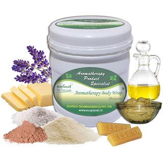 ecoplanet Aromatherapy Body Wrap Protein 1 Kg Detoxifying and Toning