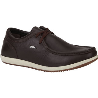 Woodland Mens Brown Casual Shoe