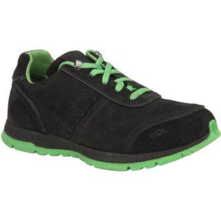 Woodland Mens Black Casual Shoe