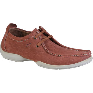 Woodland Mens Tan Casual Shoe