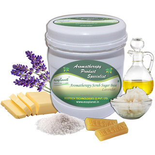 ecoplanet Aromatherapy Body Wrap Lavender 1 Kg Relaxing and Energizing