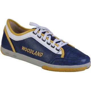 Woodland Mens Blue Casual Shoe