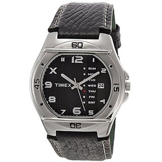 Timex EL03 Fashion Analog Black Dial Men's Watch