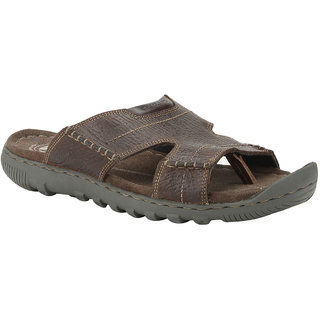 Woodland Men's Brown Slippers
