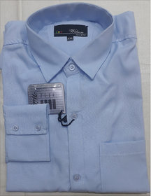 Sky Blue Shirt For Uniform Or Daily Use  (M-L-XL-XXL)