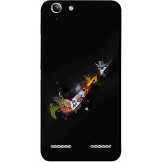 Snooky Printed All is Right Mobile Back Cover For Lenovo Vibe K5 Plus - Multi