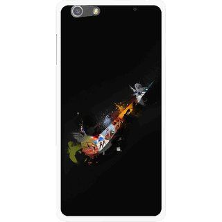 Snooky Printed All is Right Mobile Back Cover For Oppo R1 - Multi