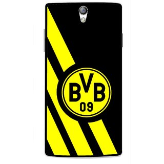 Snooky Printed Sports Logo Mobile Back Cover For Oppo Find 5 Mini - Black