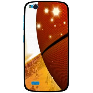 Snooky Printed Basketball Club Mobile Back Cover For Gionee Elife E3 - Multi