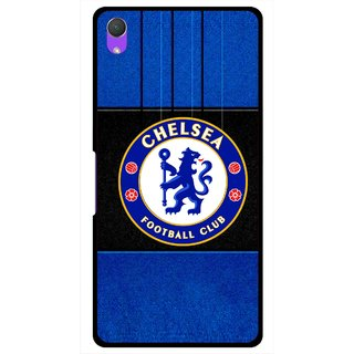 Snooky Printed FootBall Club Mobile Back Cover For Sony Xperia Z2 - Multi