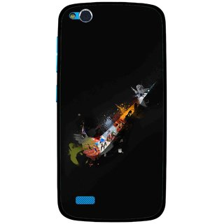 Snooky Printed All is Right Mobile Back Cover For Gionee Elife E3 - Multi