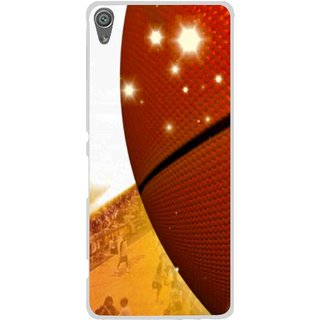 Snooky Printed Basketball Club Mobile Back Cover For Sony Xperia XA1 - Multi