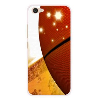 Snooky Printed Basketball Club Mobile Back Cover For Vivo V5 Plus - Multi
