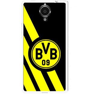 Snooky Printed Sports Logo Mobile Back Cover For Gionee Elife E7 - Black
