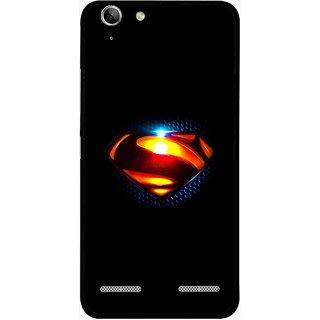 Snooky Printed Super Hero Mobile Back Cover For Lenovo Vibe K5 Plus - Multi