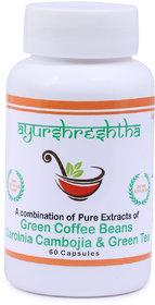 Ayurshreshtha Green Coffee Beans  Garcinia Cambogia 750
