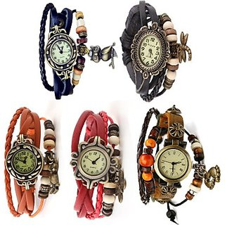 Thummar fashion Vintage Butterfly Analog Watch - For Girls, Women