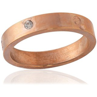 Sanaa Creations Mens Style Stainless Steel Silver Plated Metal Ring for Men